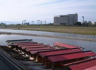 鵜飼観覧船乗場の写真