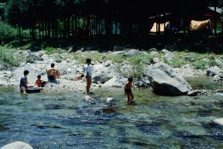 飛騨金山の森 キャンプ場の写真