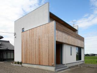 I邸新築工事|第18回トステムTH大賞 地域最優秀賞受賞。 可能な限りシンプルな形にする事と、白い壁と無垢...