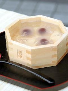 餅惣_水まんじゅう…1皿350円