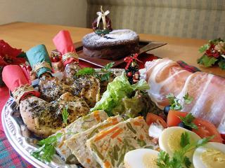 クリスマスオードブル…(1人前)1,080円~|大人のオードブルをご予算に合わせてご用意。2人前以上から要予約。