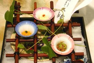 加納宿‐懐石料理 8月のお献立